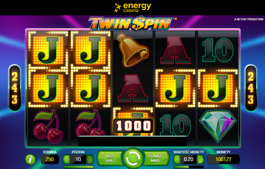Energy Casino slot Twin Spin