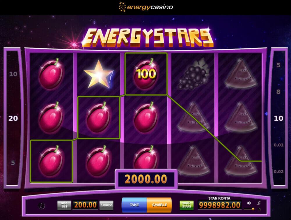 Energy Casino automaty go gry online