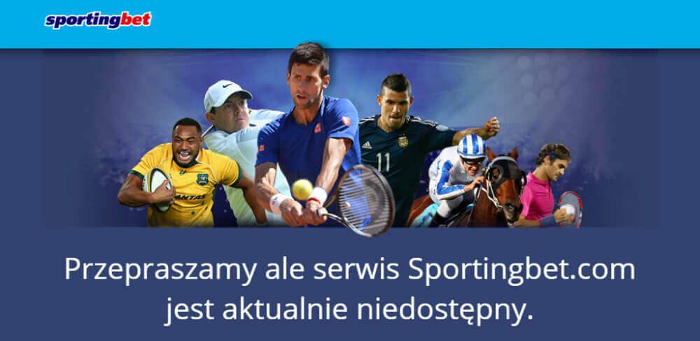 Sportingbet nie działa w Polsce