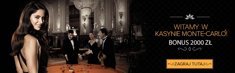Monte Carlo Casino online kod promocyjny