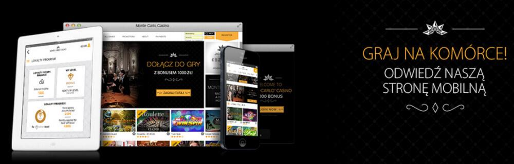 Monte Carlo Casino mobile