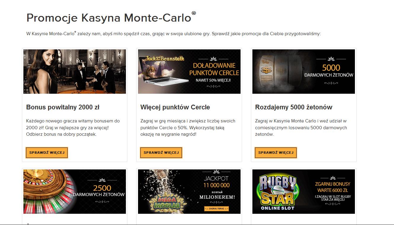 Promocje w Monte Carlo