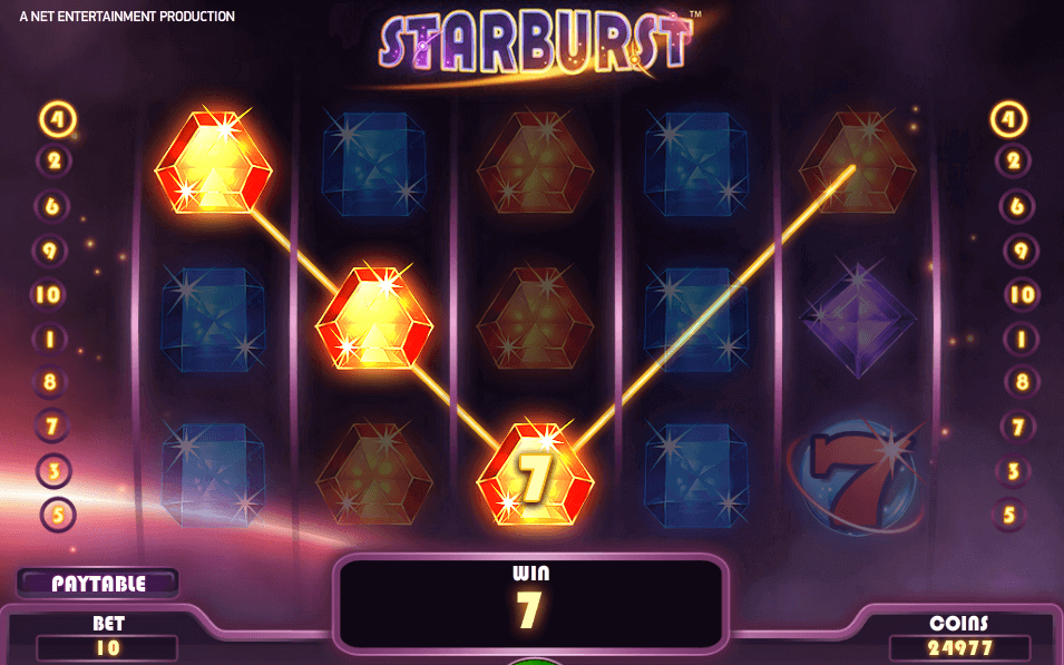 Automat do gry Starburst