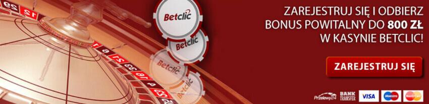 Betclic Casino kod promocyjny