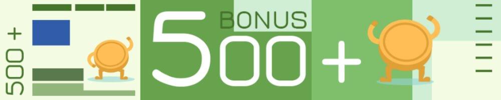 forBET bonus 500+