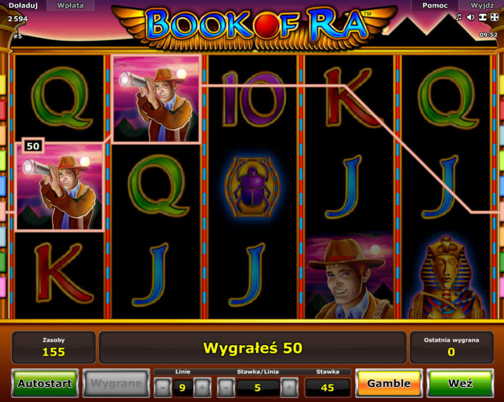 gry casino book of ra