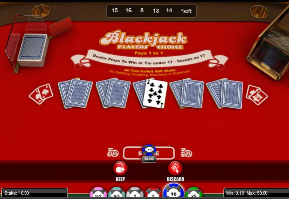 Blackjack w kasynie MrGreen