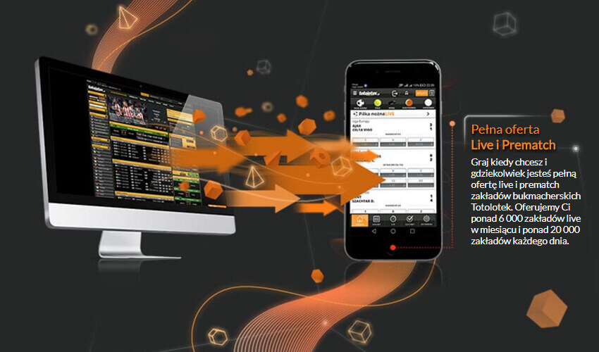 Totolotek mobile - graj mobilnie