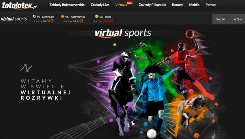 Totolotek Virtuals - wirtualne sporty