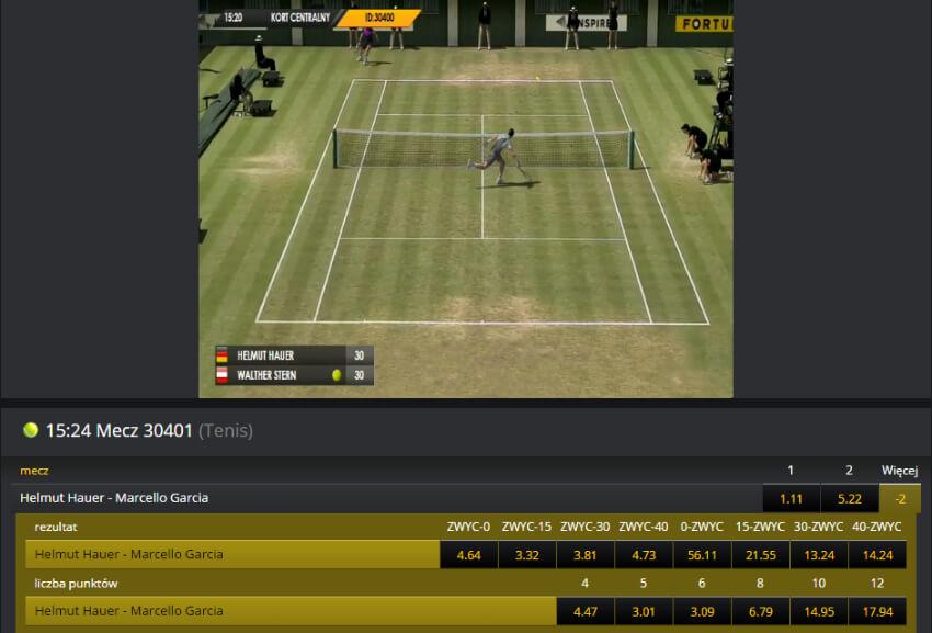 Fortuna zakłady na wirtualne sporty