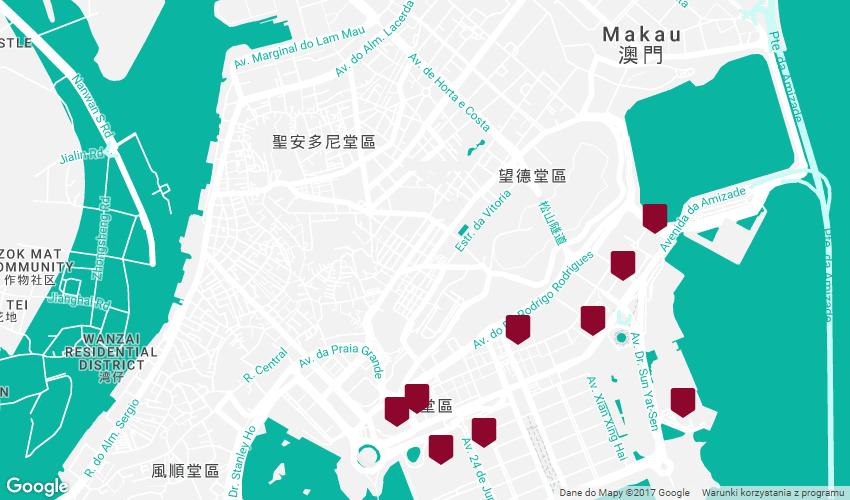 Kasyna w Makau - północ