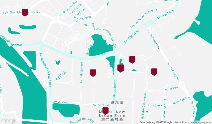 Kasyna w Makau - południe