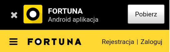 Zakłady bukmacherskie - aplikacja: Fortuna
