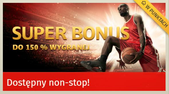 SuperBet bonus 150%