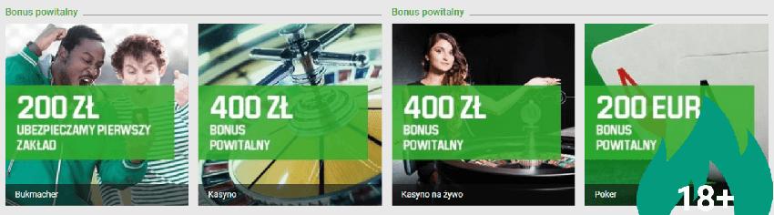 unibet bonus powitalny