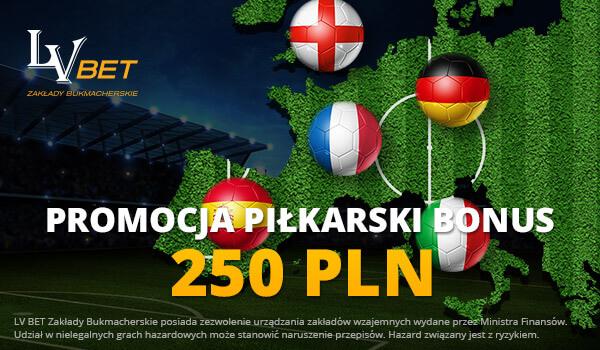 LVbet bonus piłkarski
