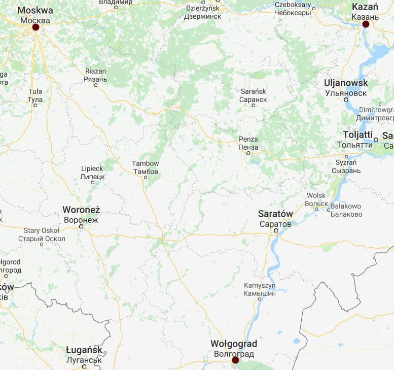 Rosja 2018 - stadiony dla Polski