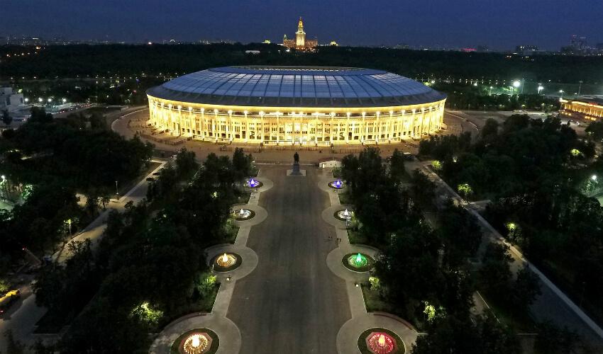 Stadiony na Mistrzostwa Świata 2018