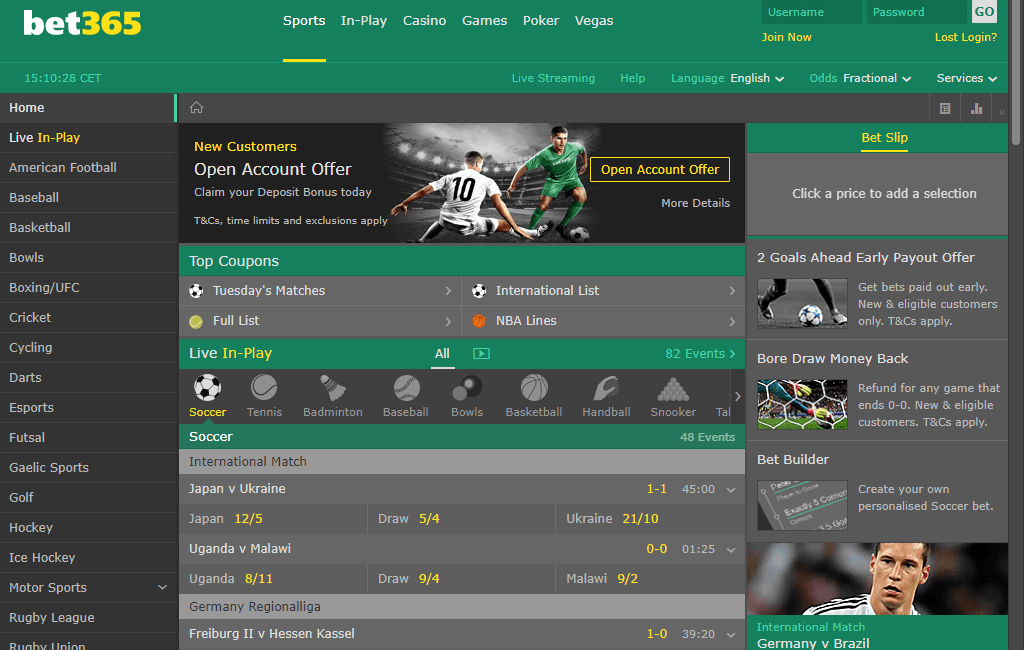 bet365 bukmacher