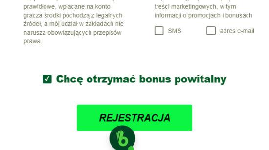 TOTALbet bonus i rejestracja