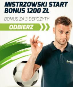 forBET bonus 1200 zł