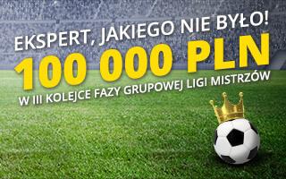 Fortuna bonus do 100 000 zł