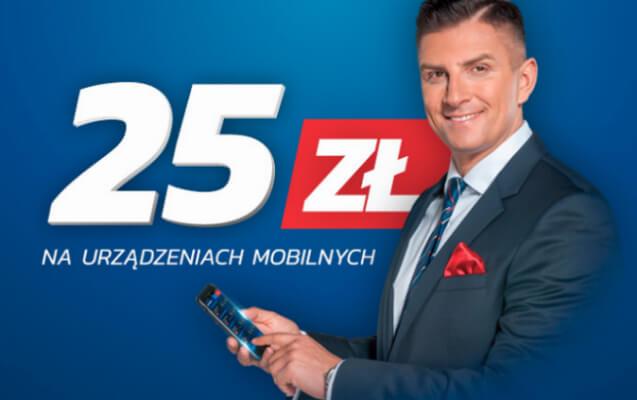 eToto bonus mobile freebet 25 zł