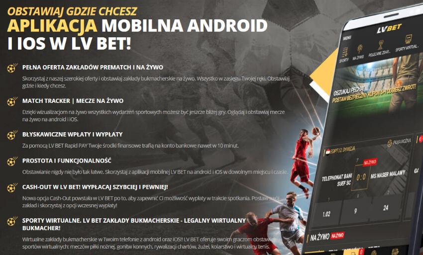 LVbet mobile - aplikacja mobilna LVbet
