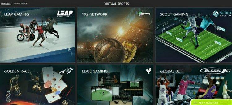 BetWinner sporty wirtualne