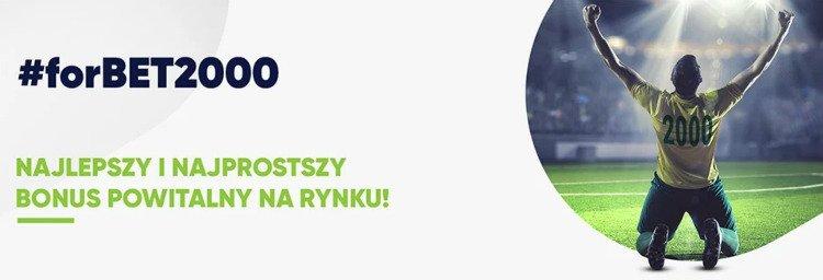 forBET kod promocyjny - bonus do 2000 zł