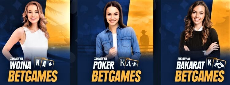 STS kasyno online - Betgames