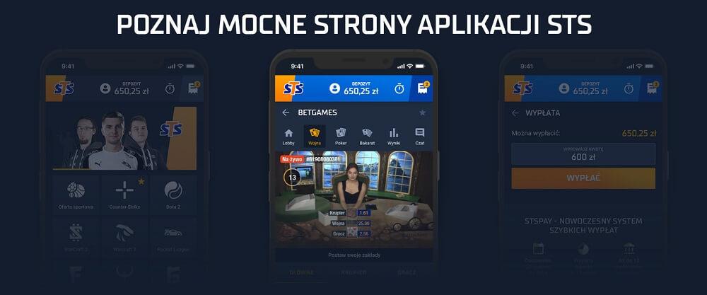 STS aplikacja mobilna