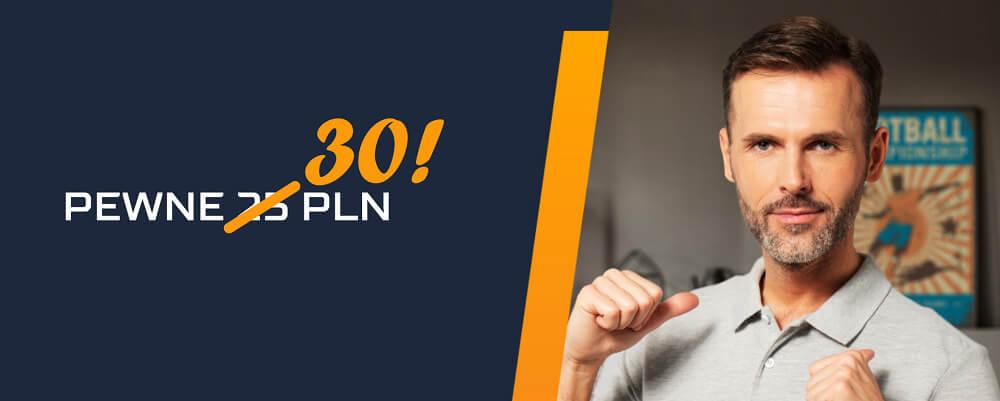 STS zakład bez ryzyka 30 PLN