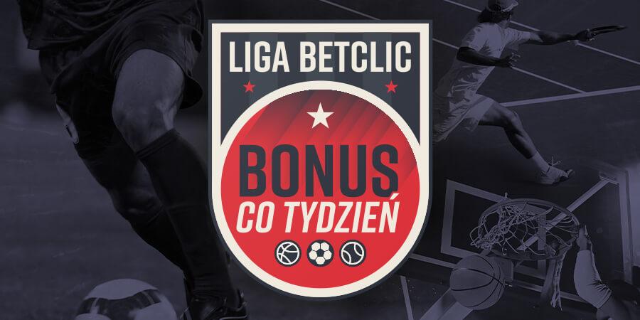 Liga Betclic bonus co tydzień