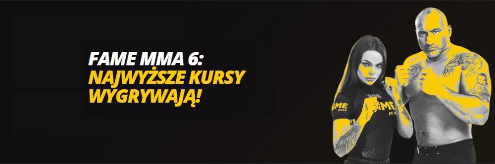 Bonus Fame MMA 6 w LV BET