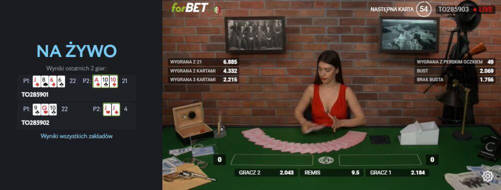 forBET blackjack