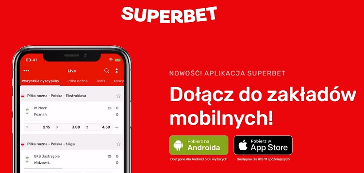 Superbet aplikacja mobilna