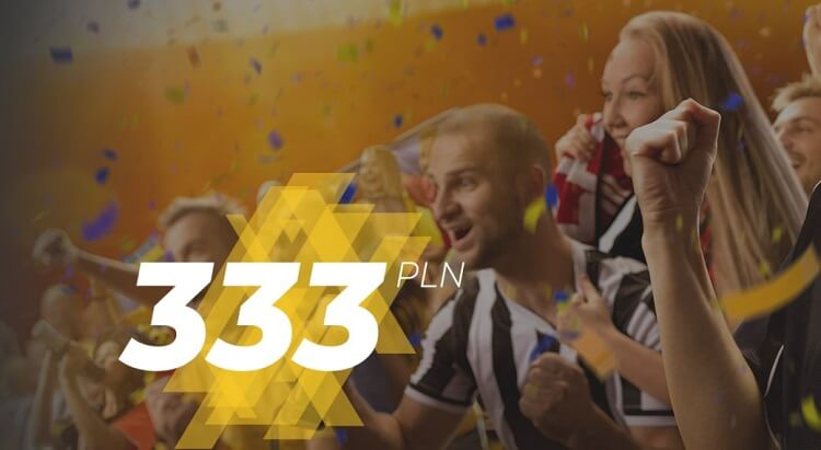 LV BET bonus cashback 333 zł