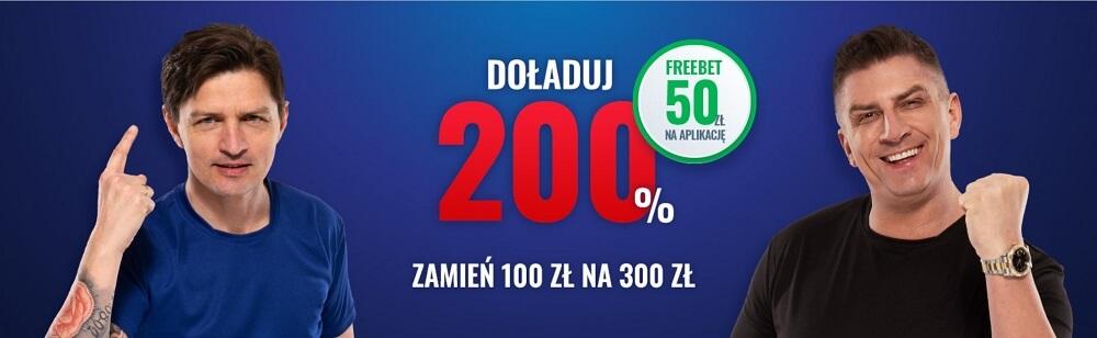 eToto bonus freebet 50 zł + 200 zł